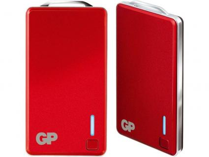 Portable PowerBank XPB28 2.500mAh - red