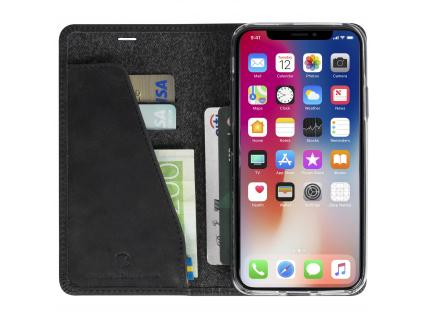 Sunne 4 Card FolioCase Apple iPhone X - Black