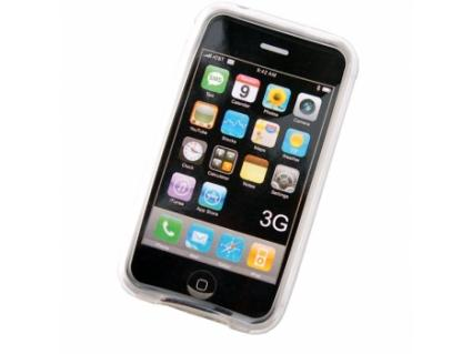 Siliconen hoes Apple iPhone 3G Transparant