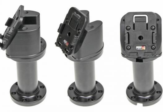 "Pedestal mount 4"" for cable Kop 60° & MoveClip H:150mm"