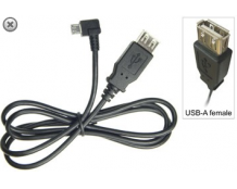 Brodit Adapter Kabel Micro usb --> USB (f) voor Intermec CN50