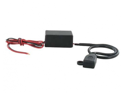 USB 2.0 voltage adapter - 12V --> 5 Volt - 30cm kabel
