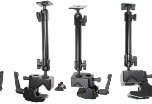 Pedestal Mount Lite  Super clamp mount, 340mm, 5-65mm