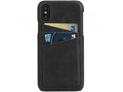 Sunne 2 Card Cover Apple iPhone X Vintage Black