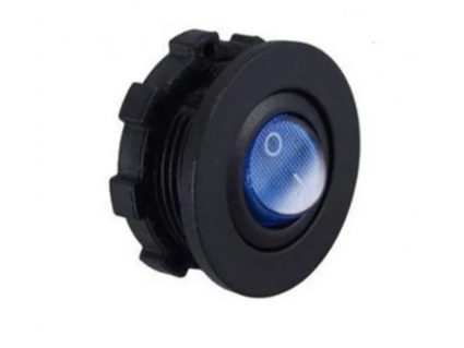 inbouwplug rond toggle switch met ring