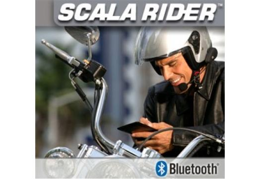 scala rider Solo XL Bluetooth Helmet Headset for GSM
