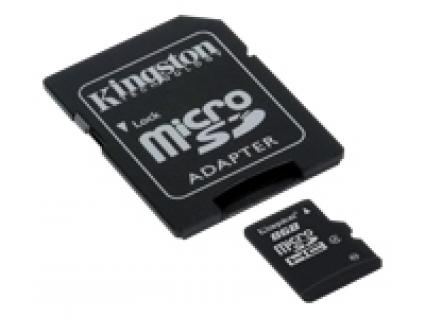 16GB Micro SD Class 4 Memory Card incl SD Adapter